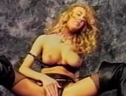 Exotic pornstar Heather Lere in incredible vintage, fetish adult movie