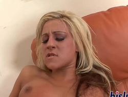 Sexy Lexi has her hairy snatch hammered