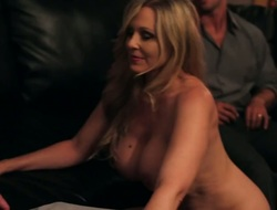 Rocco Reed receives pleasure from fucking Oriental Julia Ann with cool ass and trimmed cunt