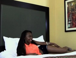 Ebony teens jugs jizzed