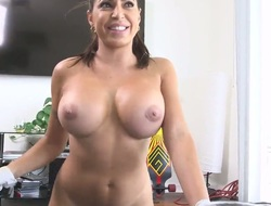 Huge tits Latin chick takes on dick