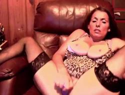 Adult filmstar Stacie with 38DD Natural and Pierced Tits