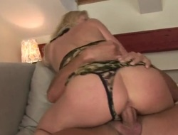 Blonde Jasmin receives her throat attacked by guys stiff love torpedo