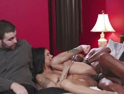 Disappointed wife Nadia Styles bonks a hot BBC