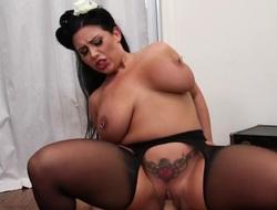 Big boobs emo Sheridan Love pussy rammed