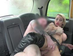 Emo honey gets pounded for a free fare