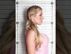 Perverted prison babe Samantha Saint rammed hard