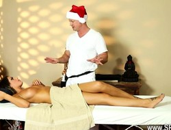 Very tricky spa of precious masseur
