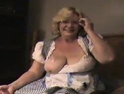 Mature take bbc cumshots Muriel from 1fuckdatecom