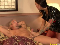 Patient acquires pleasured by naughty nurse Angelina Valentine
