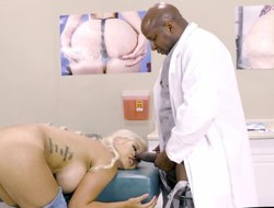 Magnificent derriere Bridgette B is screwed by rectal hole in hospital