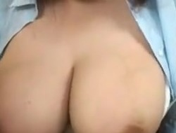 Wife s huge lactating boobs 2