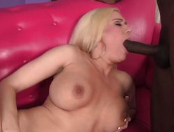 Mariah Madysinn straddles a big black dick