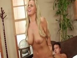 Best pornstar Bree Olson in amazing large tits, cunnilingus xxx scene