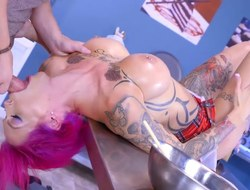 Anna Bell Peaks gets slammed hard by her horny student